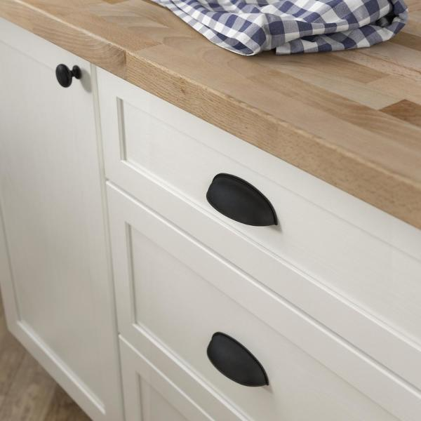 Center To Matte Black Dual Mount, Home Depot Hardware For Cabinets And Drawers