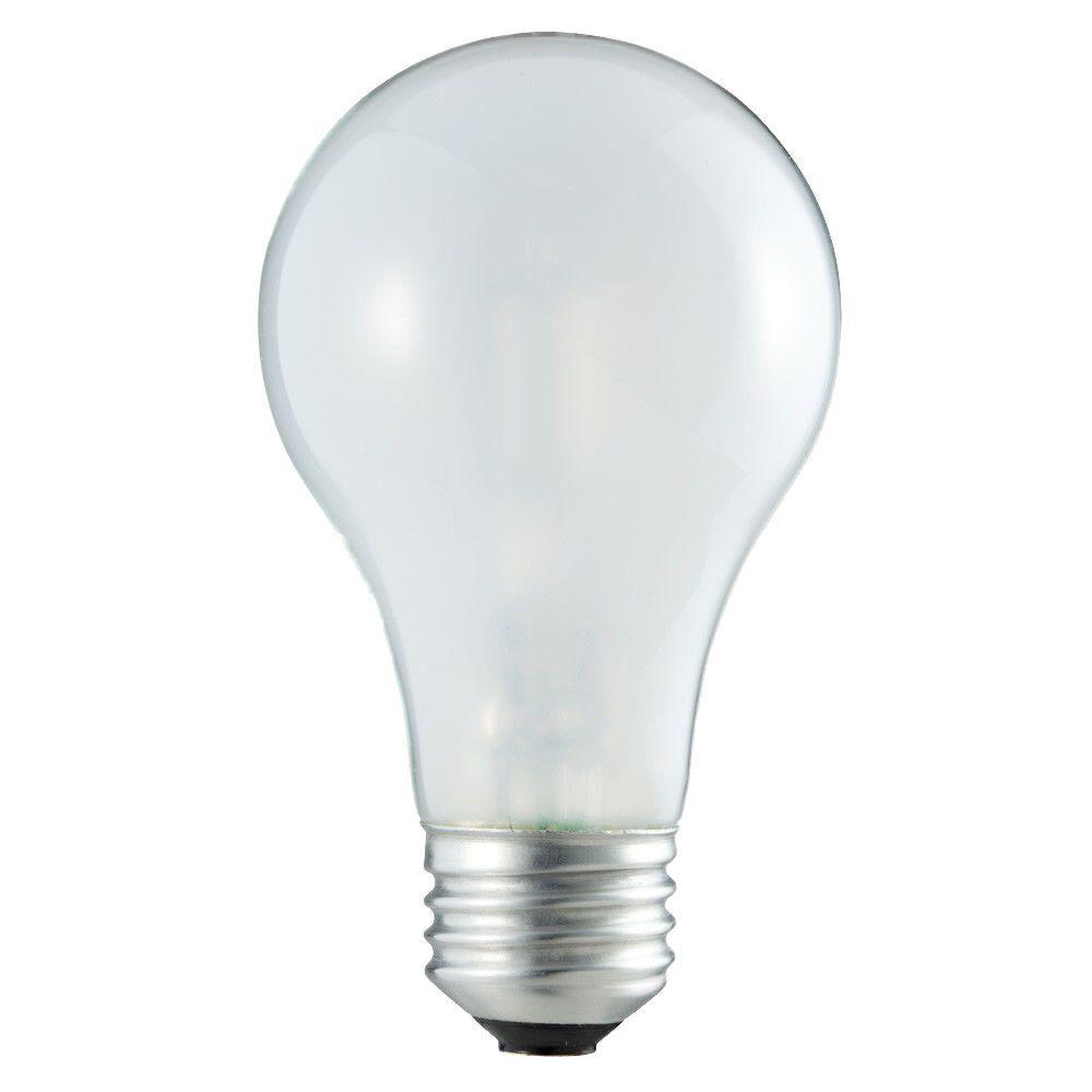 DuraMax 40-Watt Incandescent A19 Soft White Light Bulb (48-Pack)