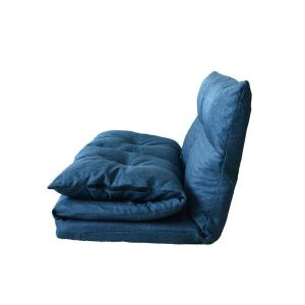 Superb Harper Bright Designs Blue Adjustable Folding Futon Floor Squirreltailoven Fun Painted Chair Ideas Images Squirreltailovenorg