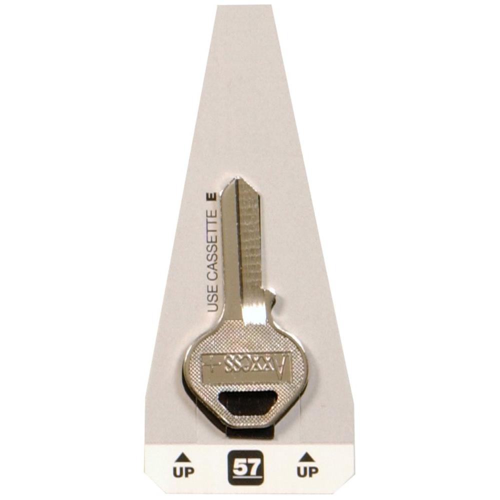 #57 Blank Master Padlock Key