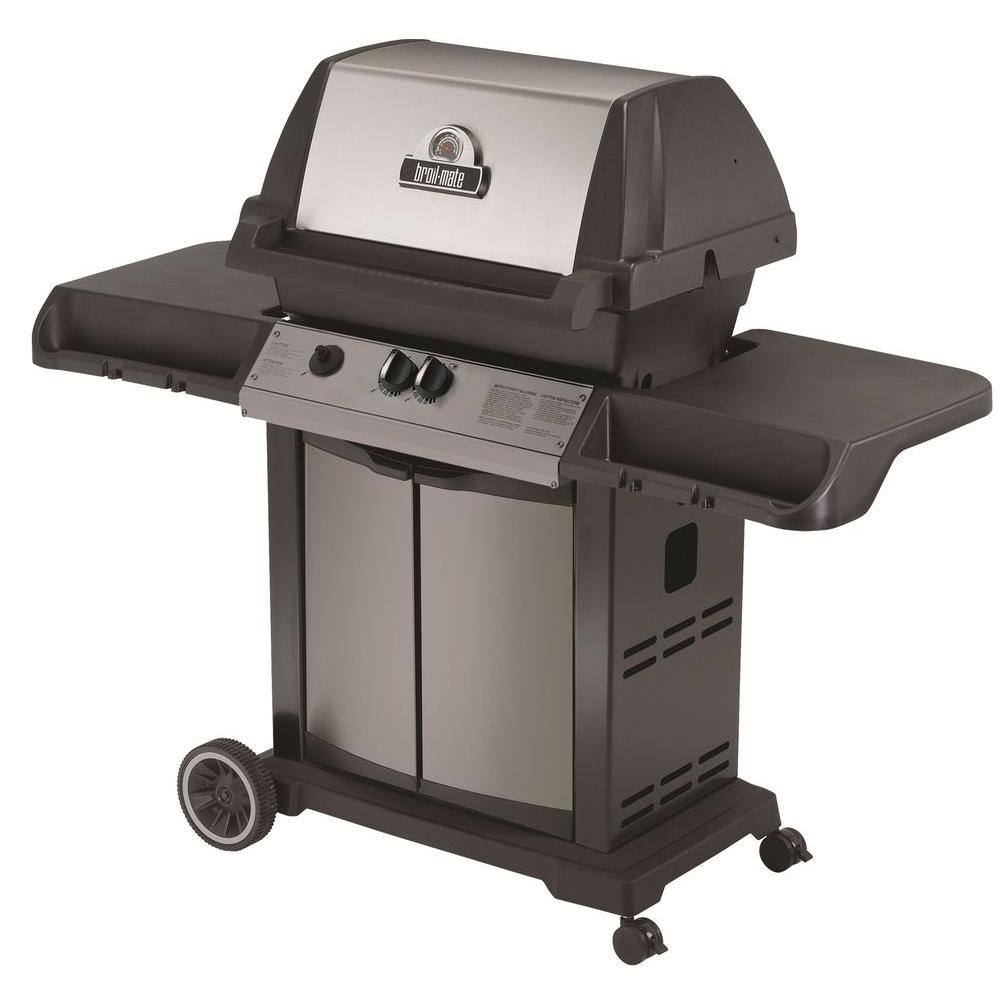 broil-mate Cast Aluminum Reddi-Bilt 2 Burner Natural Gas Grill-DISCONTINUED