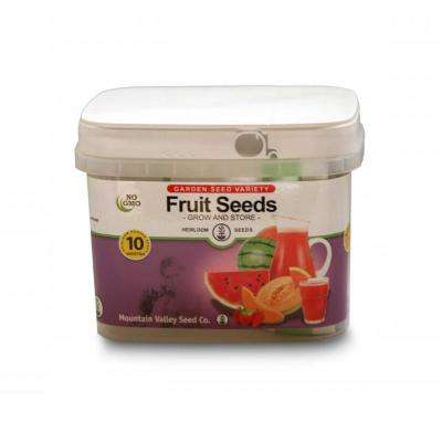 Over 2,000 Non-GMO Melon, Berry and Pumpkin Non-Hybrid 10 Varieties Survival Storage Fruit Seeds