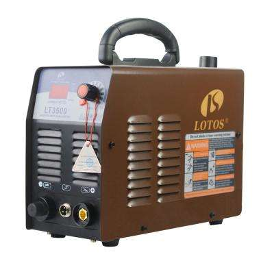 35 Amp Compact Inverter Plasma Cutter for Metal, 110V/120V Standard Wall Plug, 2/5 inch Clean Cut