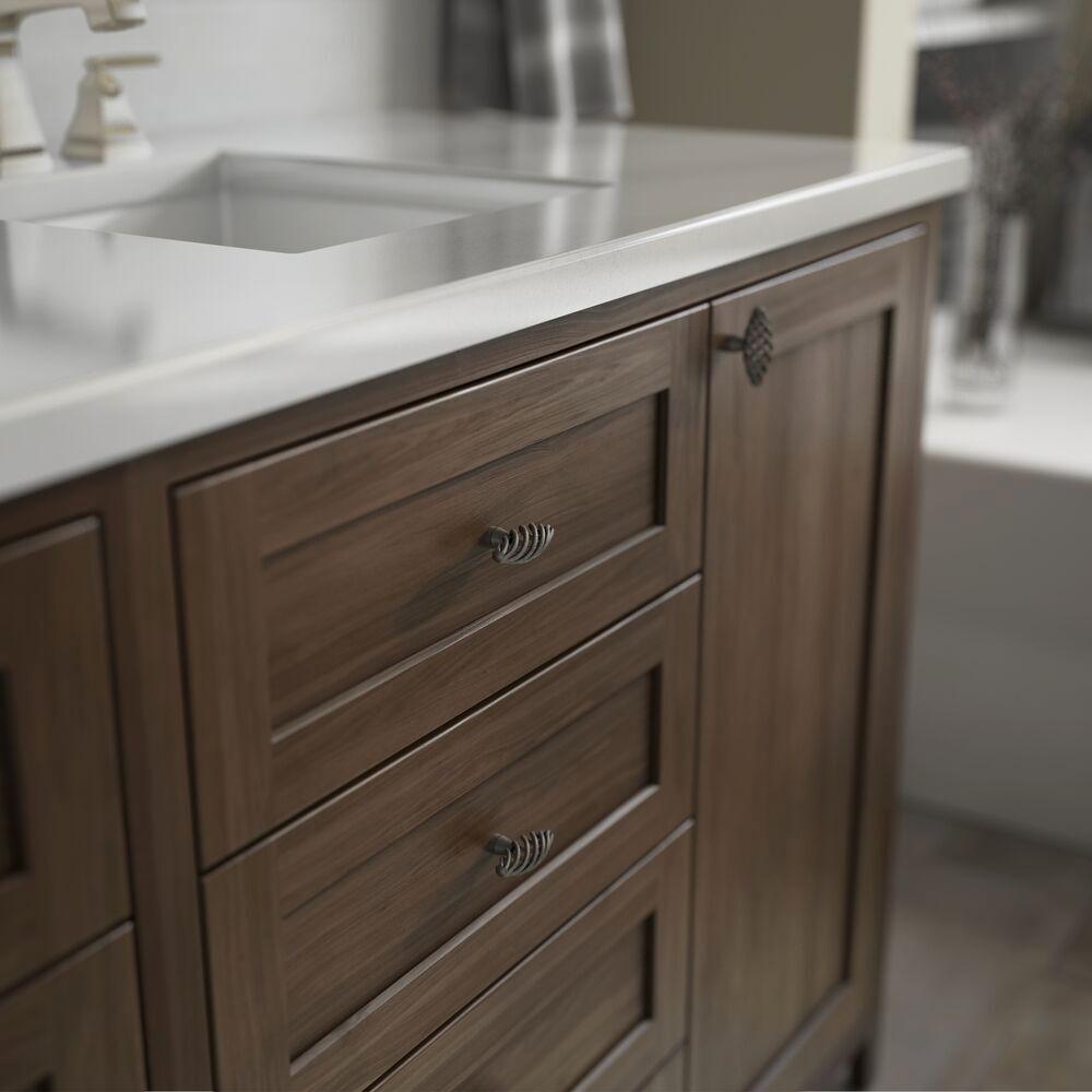 """25 Antique Pewter Birdcage Kitchen Bathroom Cabinet Knob 1 3//8/"""""""