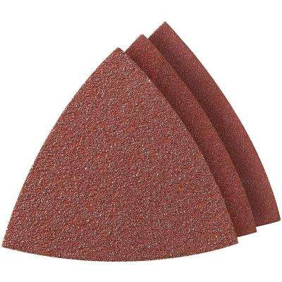 Multi-Max Assorted Grit Oscillating Tool Sandpaper for Metal, Wood, Rust, Plaster, or Old Finish Removal (6-Pack)