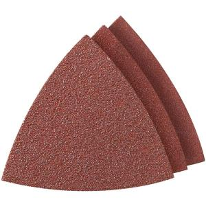 Sandpaper For Metal >> Dremel Multi Max Assorted Grit Oscillating Tool Sandpaper For Metal Wood Rust Plaster Or Old Removal 6 Pack Mm70w The Home Depot