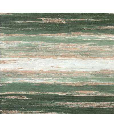 COLORS Floor and Wall DIY Old Green Tree Aged 6 in. x 36 in. Painted Style Glue Down Luxury Vinyl Plank(45 sq. ft./case)