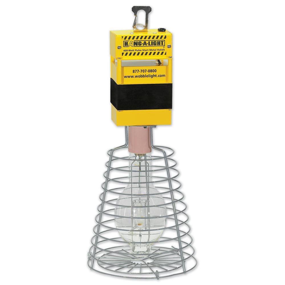 400-Watt 360-Degree Hang-A-Light Steel Portable Metal Halide Work Light