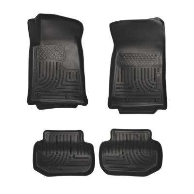 Front & 2nd Seat Floor Liners Fits 11-15 Camaro