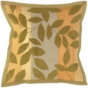 Artistic Weavers LeavesG2 18 inch x 18 inch Decorative Pillow by Artistic Weavers