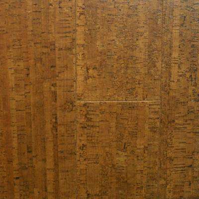 Take Home Sample - Burnished Straw Cork Flooring - 5 in. x 7 in.