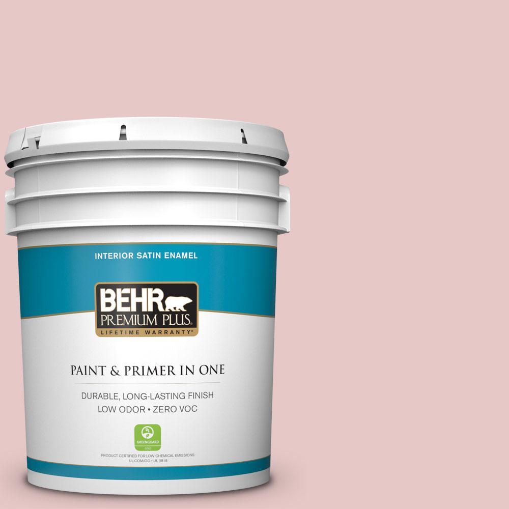 BEHR Premium Plus 5-gal. #S150-1 Cherubic Satin Enamel Interior Paint