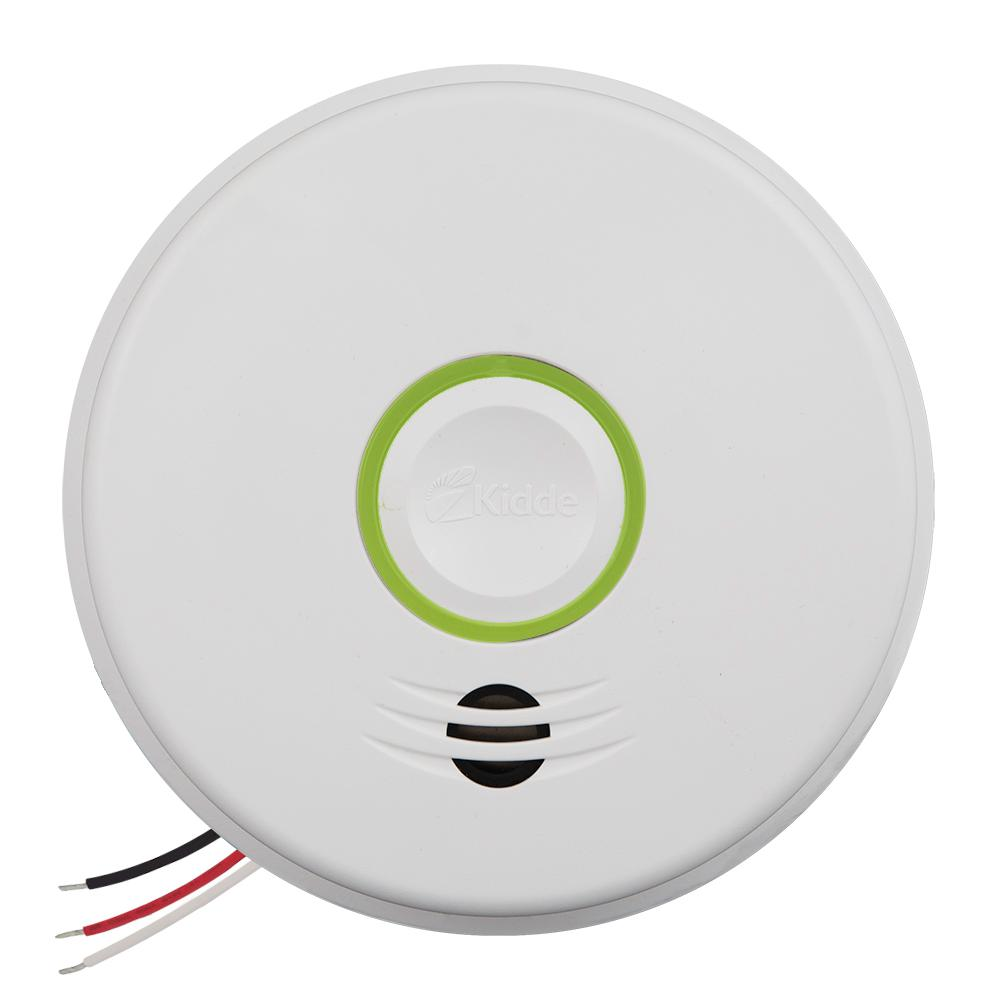 Kidde Hardwire Smoke and Carbon Monoxide Detector with 10-Year Battery Backup and Intelligent Wire-Free Voice Interconnect