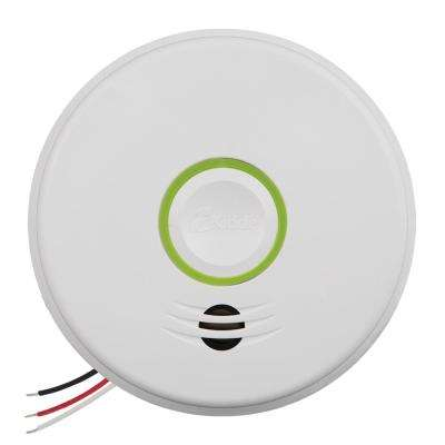 Hardwire Smoke and Carbon Monoxide Detector with 10-Year Battery Backup and Intelligent Wire-Free Voice Interconnect