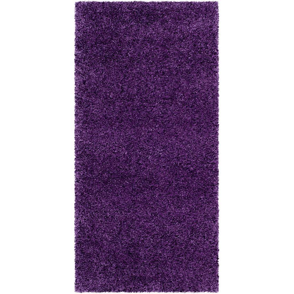 Milan Shag Purple 2 ft. x 4 ft. Area Rug