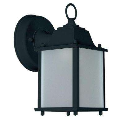 1-Light Rubbed Bronze Outdoor Lantern