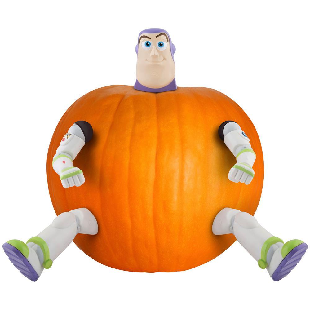 13 in. Pumpkin Push Ins Kit Buzz LightYear Disney