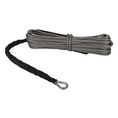 Devil's Hair in Synthetic ATV/UTV Winch Rope in Gray