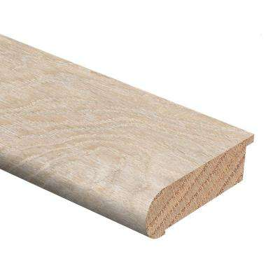 By the Sea Oak 3/4 in. Thick x 2-3/4 in. Wide x 94 in. Length Hardwood Stair Nose Molding