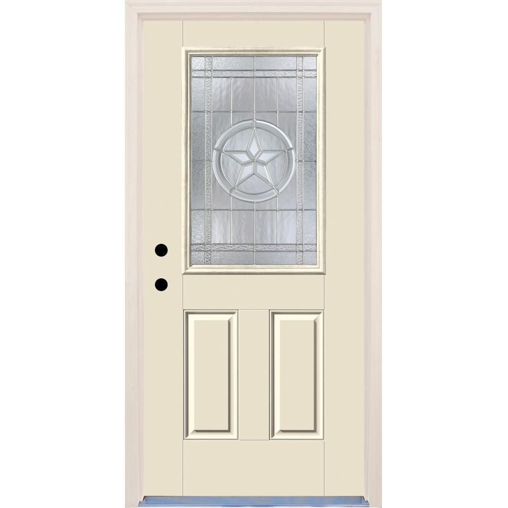 Builders Choice 36 In. X 80 In. Right-Hand Texas Star 1/2