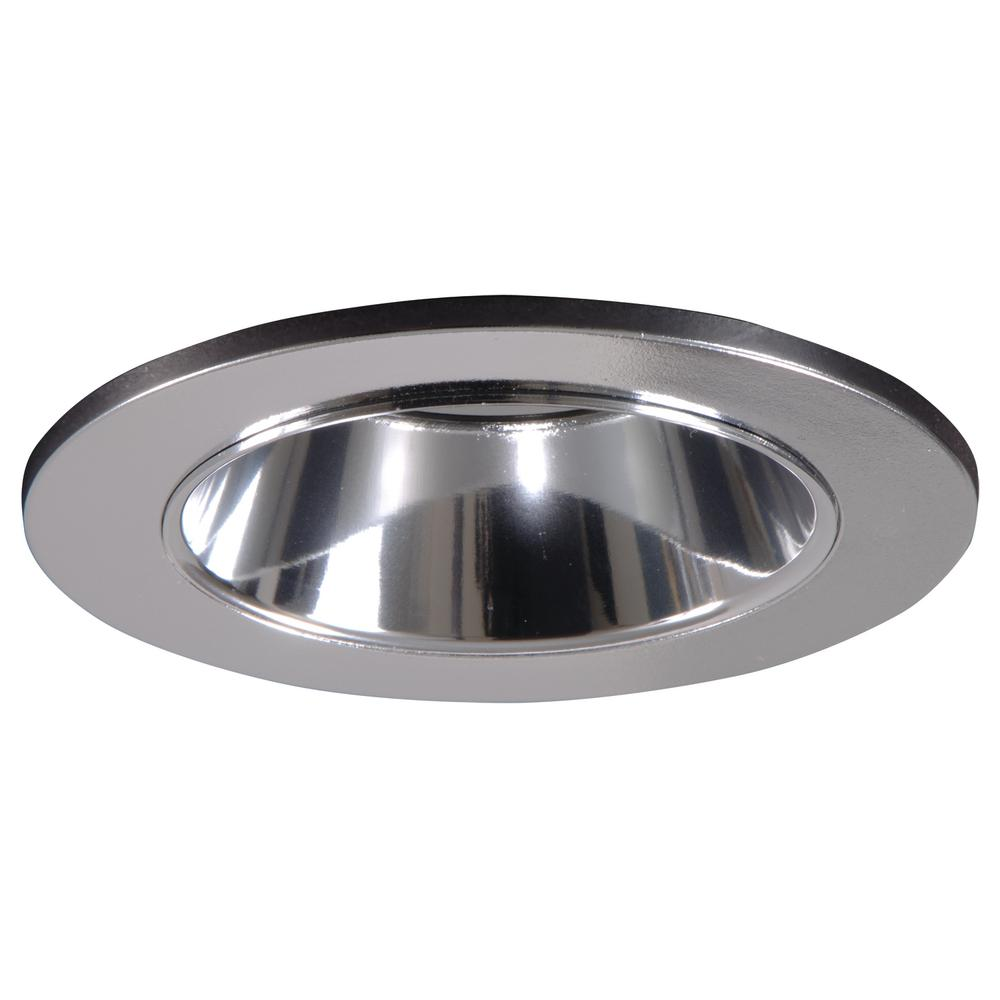Halo 3 in white recessed ceiling light shower trim with regressed polished chrome recessed ceiling light shower trim with regressed lens and clear reflector arubaitofo Image collections