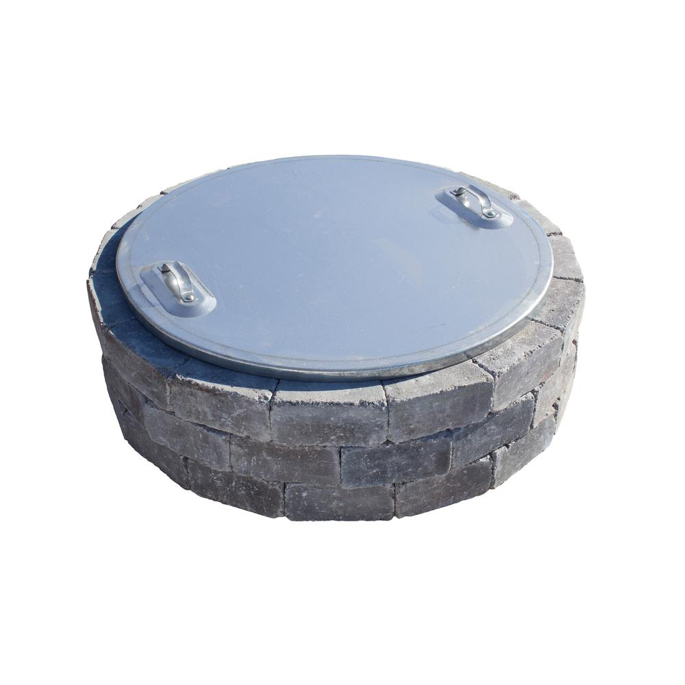 Necessories 37 In Fire Pit Cover Iac 30 The Home Depot