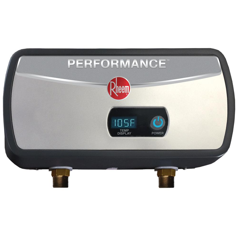 Rheem Performance 6 kW 1.0 GPM Point-Of-Use Electric Tankless Water on