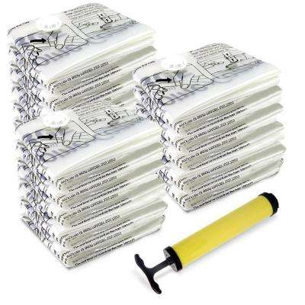 Home Vacuum Storage Bags (15-Pack)