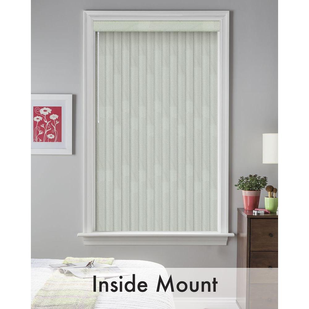Bali Cut-to-Size Maui Sage 3.5 in. PVC Louver Set - 73.5 in. L (9-Pack)