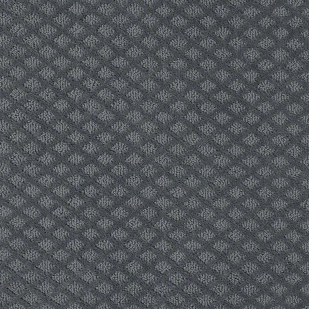 Carpet Sample - Charm Square - Color East Lake 8 in. x 8 in.
