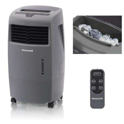 500 CFM 3-Speed Indoor/Outdoor Portable Evaporative Air Cooler (Swamp Cooler) with Remote Control for 300 sq. ft.