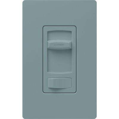 Skylark Contour 1.5-Amp Single-Pole/3-Way Quiet 3-Speed Slide-to-Off Fan Control - Gray