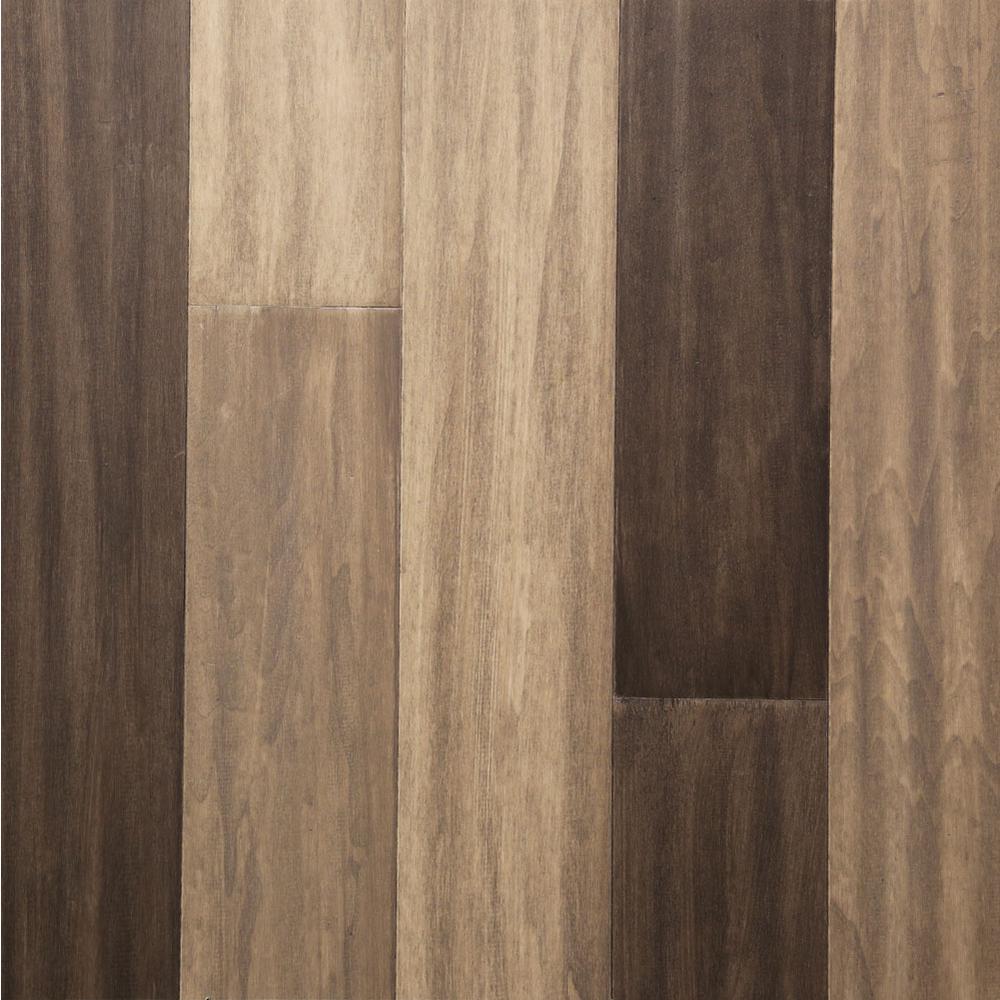 Take Home Sample - Meadowlark Engineered Rigid Core Hardwood Flooring - 5.12 in. Wide x 6 in. Length