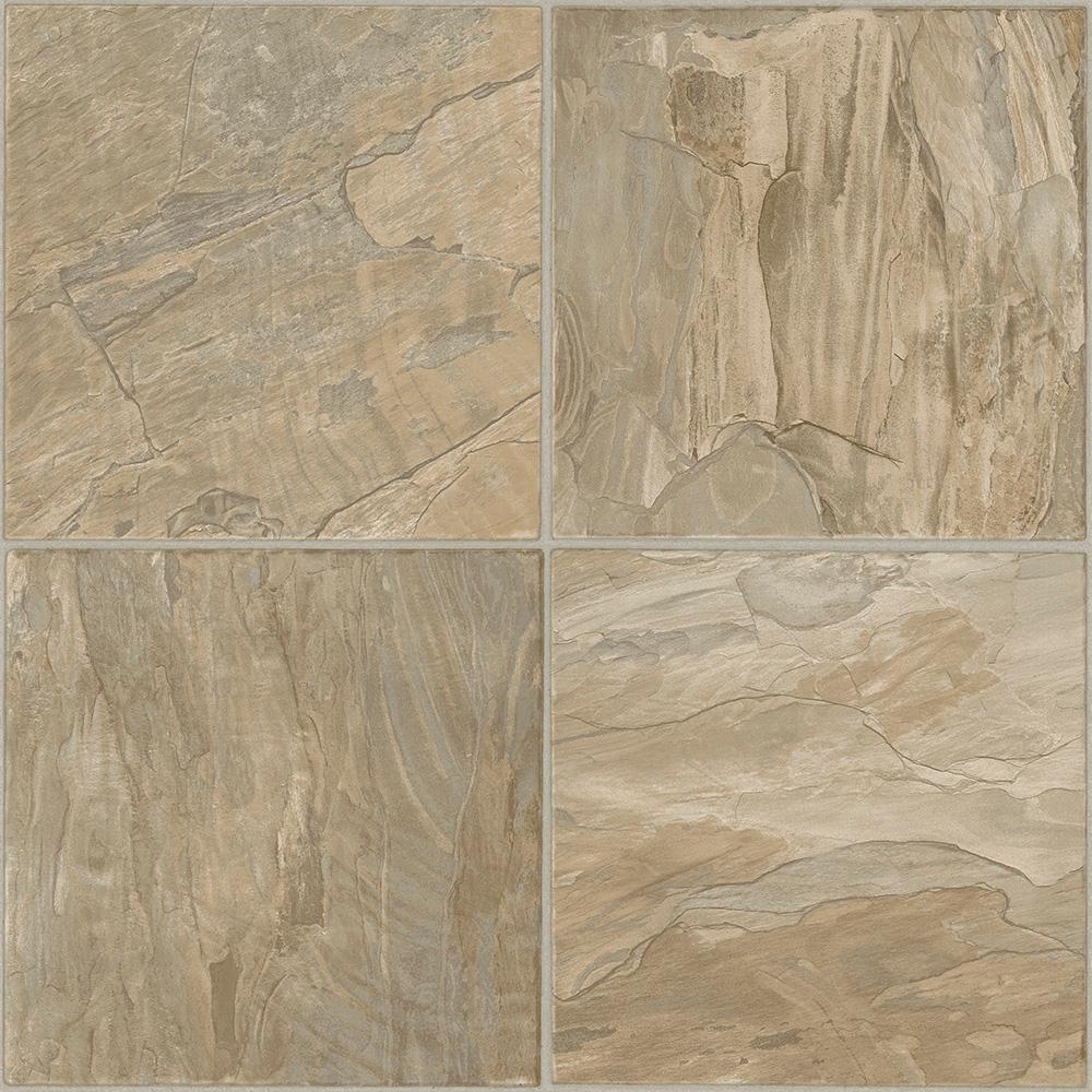 Take Home Sample - Coral Sand Residential Vinyl Sheet Flooring - 6 in. x 9 in.