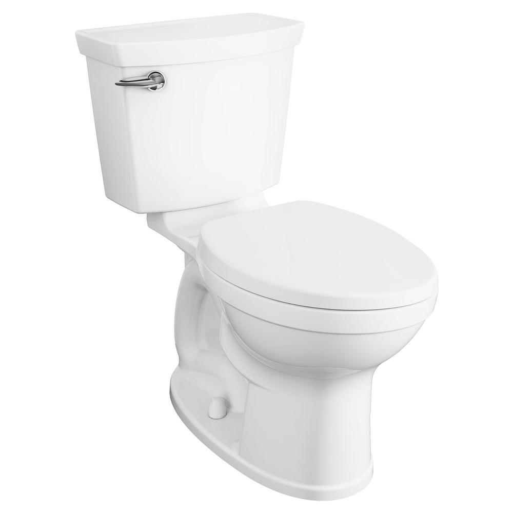 AmericanStandard American Standard Champion 4 Max Tall Height 2-Piece HET 1.28 GPF Single Flush Elongated Toilet in White with Slow Close Seat