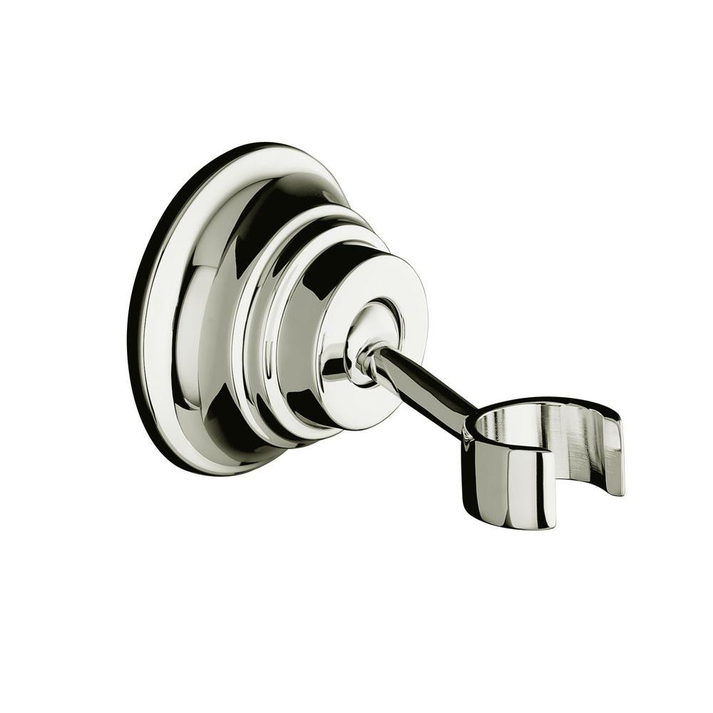 Bancroft Wall-Mount Handshower Holder in Polished Nickel