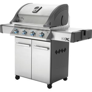 NAPOLEON Prestige 500 Propane Gas Grill in Stainless Steel