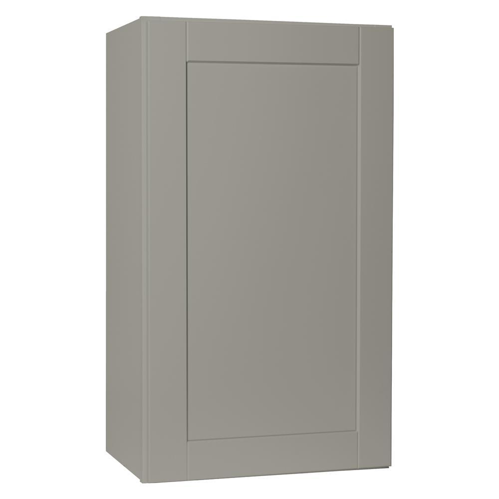 Hampton Bay Shaker Kitchen Cabinet In Dove Gray