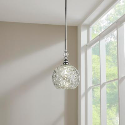 Letezia 1-Light Polished Chrome Pendant