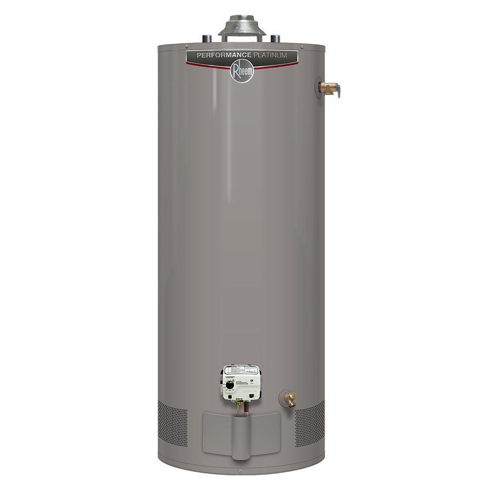 Performance Platinum 40 Gal. Short 12 Year 38,000 BTU Natural Gas Tank Water Heater