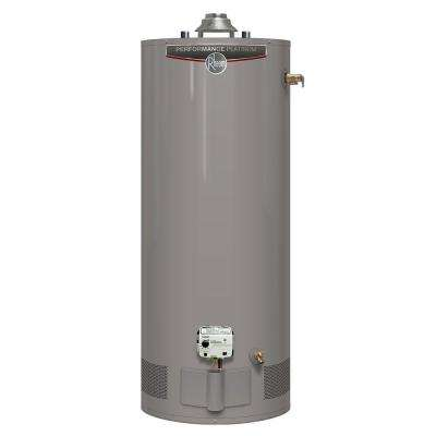 Performance Platinum 40 Gal. Short 12 Year 38,000 BTU High Efficiency Natural Gas Water Heater