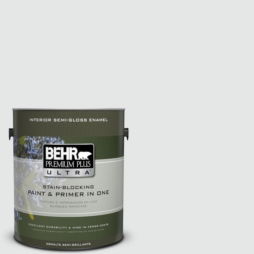 1 gal. #770E-1 Quietude Semi-Gloss Enamel Interior Paint and Primer in