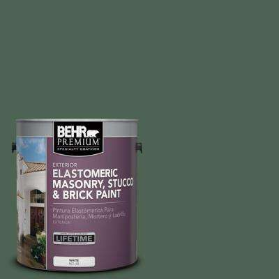 1 gal. #MS-62 Parkside Pines Elastomeric Masonry, Stucco and Brick Paint