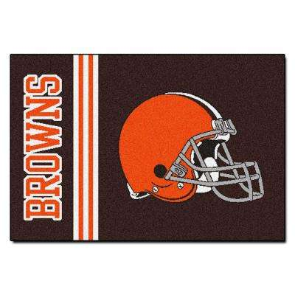 NFL - Cleveland Browns Brown Uniform Inspired 2 ft. x 3 ft. Area Rug