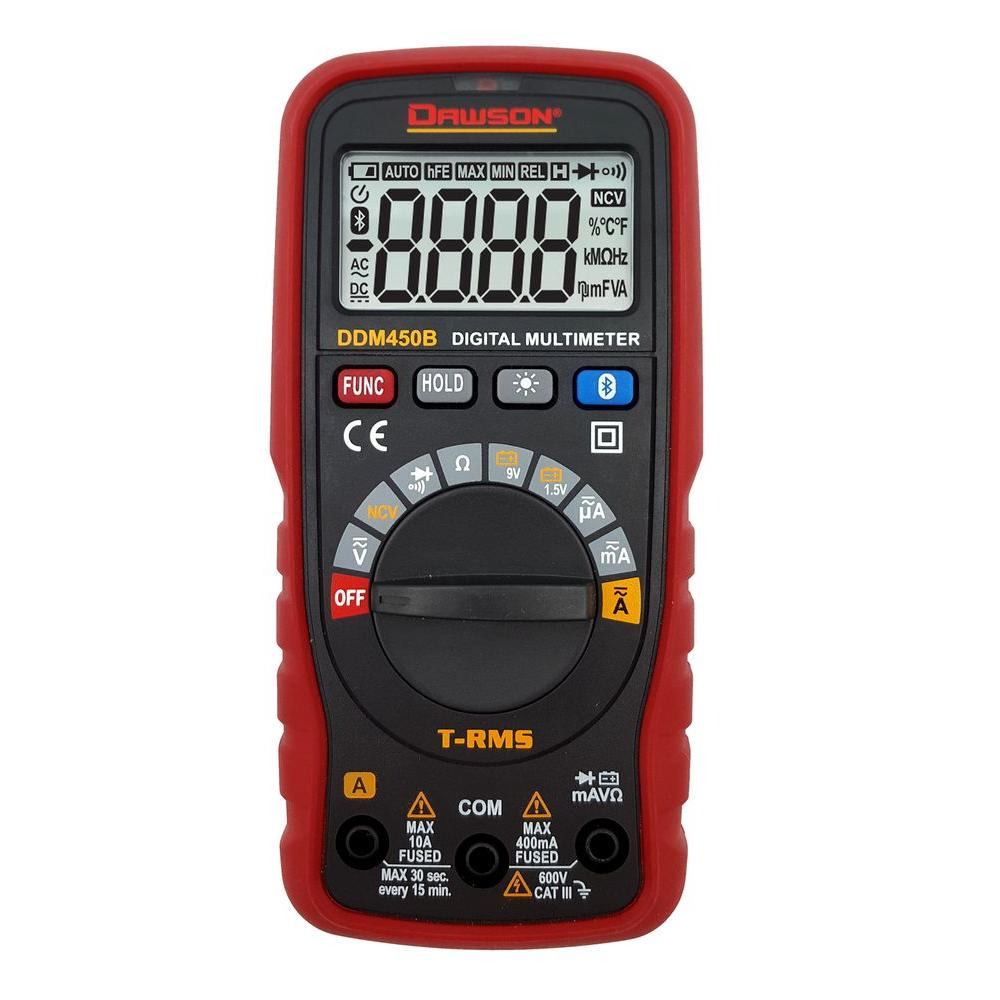 TRMS Compact Auto-Range Digital Multi-Meter with Wireless Link (iOS/Android)
