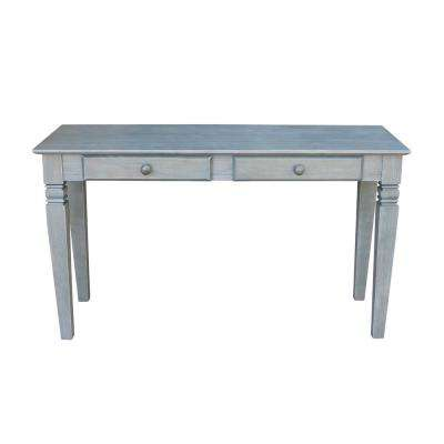 International Concepts Java 52 In Heather Gray Standard Rectangle Wood Console Table With Drawers Ot105 60s2 The Home Depot