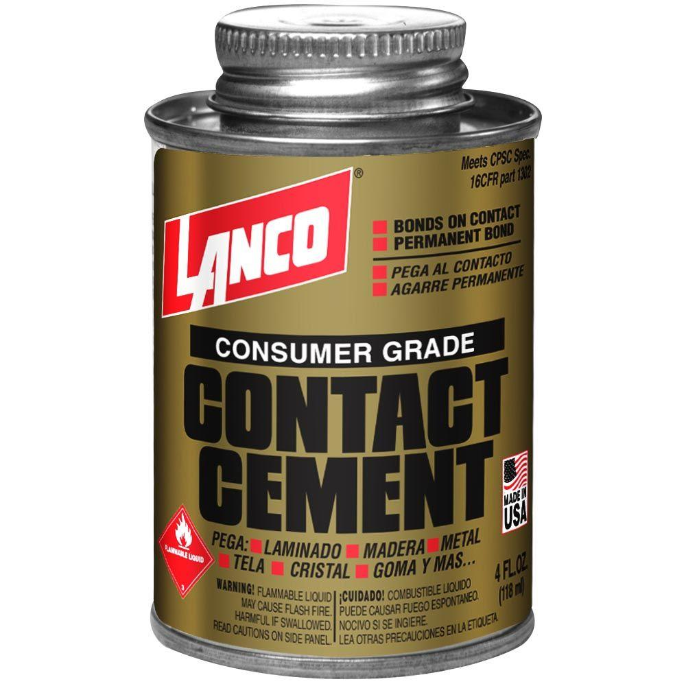 4 fl. oz. Consumer-Grade Contact Cement
