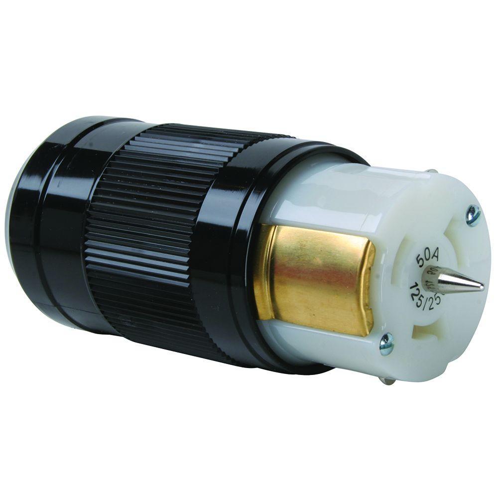 50 Amp 125/250-Volt California Standard Connector