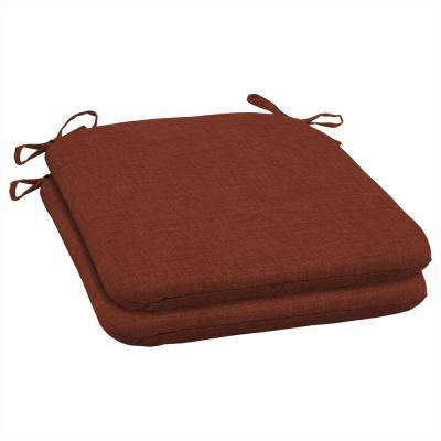 Amber Leala Texture Outdoor Seat Cushion (Pack of 2)