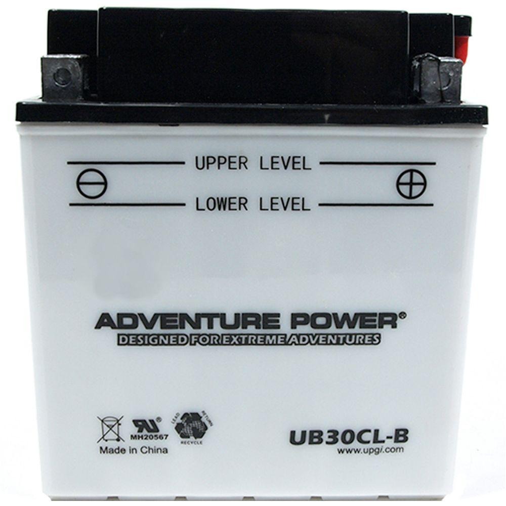 UPG Conventional Wet Pack 12- Volt 30 Ah Capacity D Terminal Battery